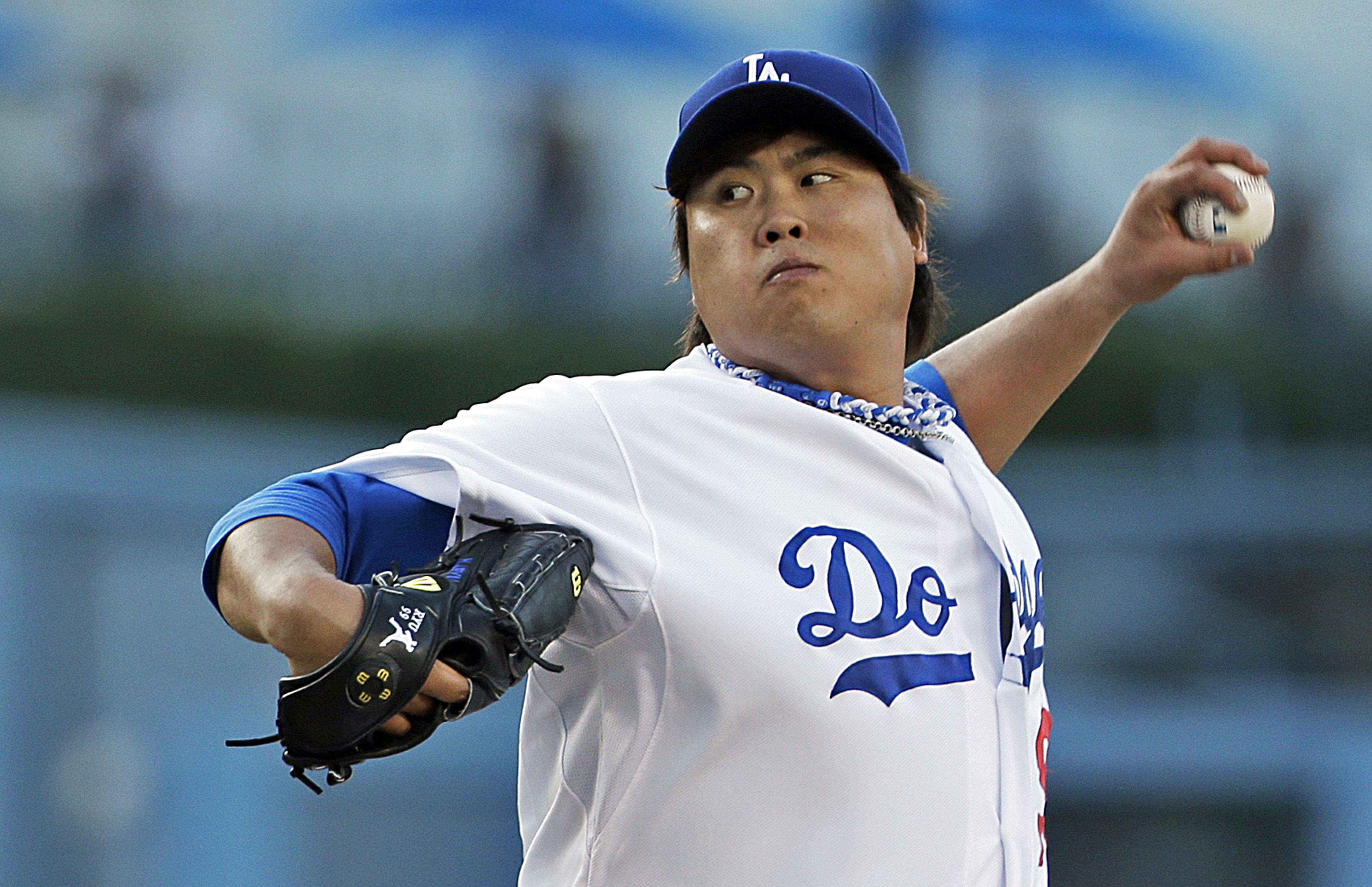Los Angeles Dodgers starter Hyun-Jin Ryu.