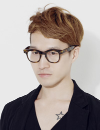 Designer Kim Hong-bum who has appeared in three consecutive seasons at N.Y. Fashion Week