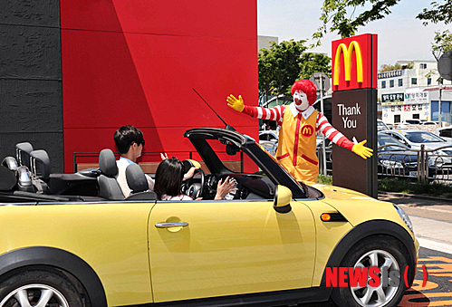McDonald's added 22 drive-thrus in Korea this year.