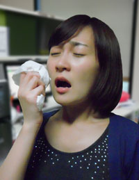 A deficiency in vitamin D aggravates allergic rhinitis.  / Korea Times file