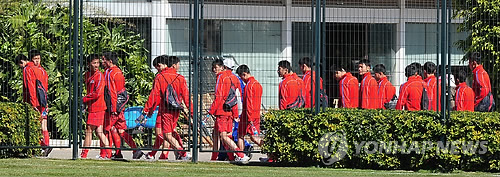North Korean soccer is getting a lot of attention. (Yonhap)
