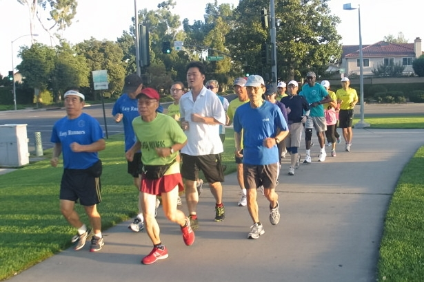 Members of Easy Runners Club have trained hard for this weekend's Long Beach marathon.