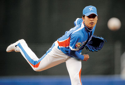 Yoon Suk Min was competive against MLB All-star studded Venezuela in 2009 WBC.