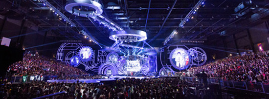 The 2013 Mnet Asian Music Awards (MAMA) takes place at the Asia-World Expo Arena in Hong Kong on Friday night. / Korea Times