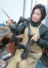 Artist Yun Sang-hee