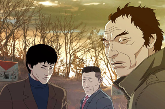 """The Fake,"" an animated film by Yeon Sang-ho, portrays how the traditional boundaries between good and evil become blurrier in the complexities of modern life and society. / Korea Times"