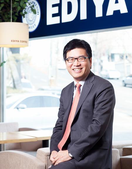 Ediya Coffee CEO Moon Chang-ki