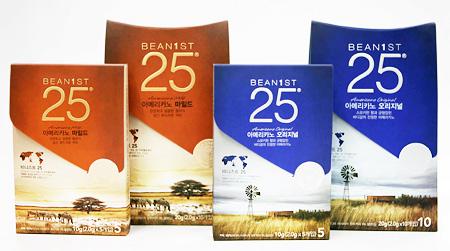 "Ediya Coffee's instant ground coffee, ""Beanist 25"""