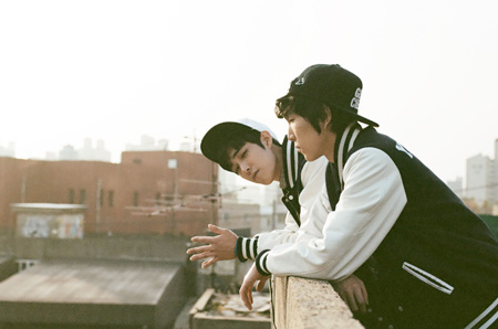 Kim Jun-one and Kang Hyuk-jun of Glen Check  / Courtesy of Soundholic Entertainment