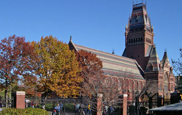 Harvard University's Annenberg Hall(AP Photo/Elise Amendola)