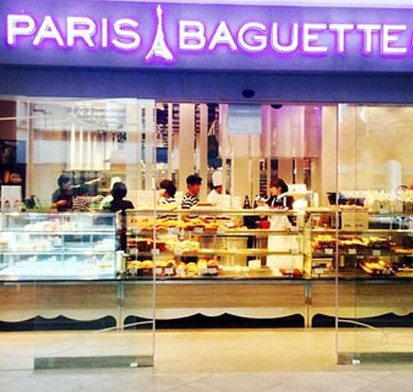 Paris Baguette opened its third outlet in Tampines, Singapore, Monday. / Courtesy of Paris Baguette