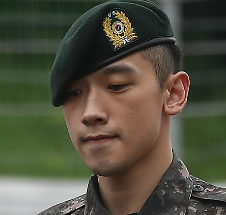 Singer Rain is under fire again for violating military code of conduct. (Yonhap)