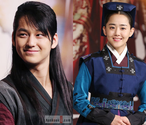Kim Bum, left, and Moon Geun-young are dating. (Hankooki.com)