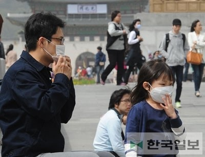 Sales of face masks shot up in Korea recently. (Korea Times file)
