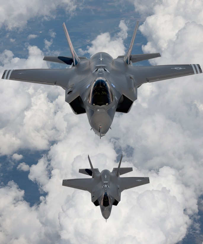 South Korea's Joint Chiefs of Staff decided to purchase 40 Lockheed Martin's F-35A stealth fighters for four years starting in 2018, with an option to buy 20 more later. (Yonhap)