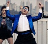"A scene from Psy's ""Gentleman"""