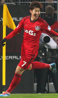 Bayer Leverkusen attacker Son Heung-min is arguably the most important player in Korean football right now. (AP-Yonhap)