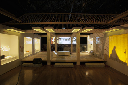 A replica of a traditional house of jongga  (Courtesy of National Folk Museum of Korea)
