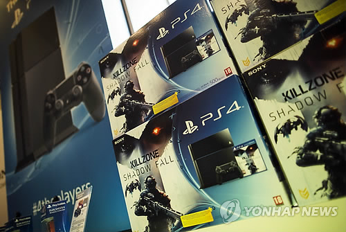 Sony's the Playstation 4 (Yonhap)