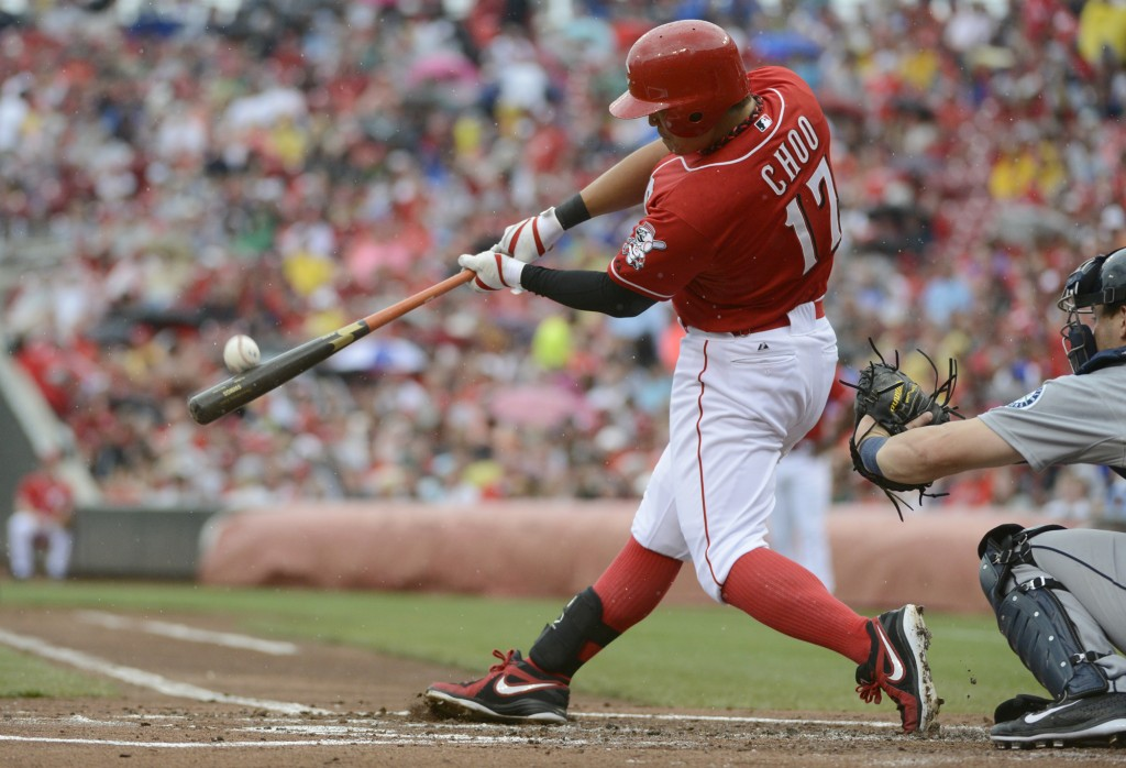 Shin-Soo Choo, who played for the Cincinnati Reds in 2013, has hit a home run in this off-season also.