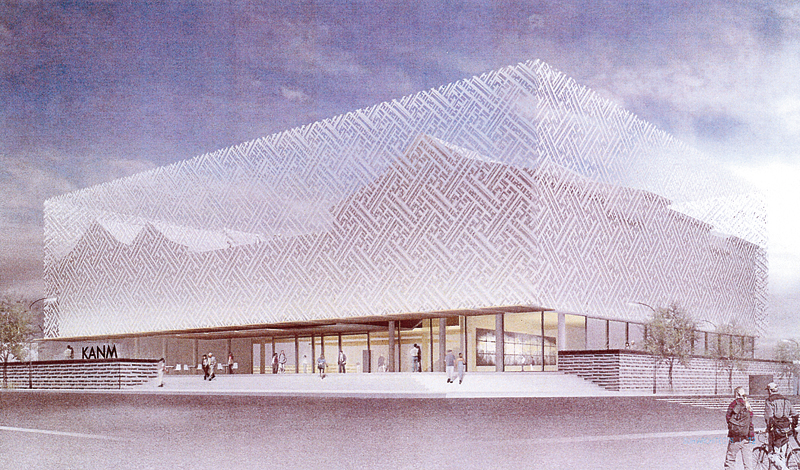 This is what the Korean American National Museum will look like.