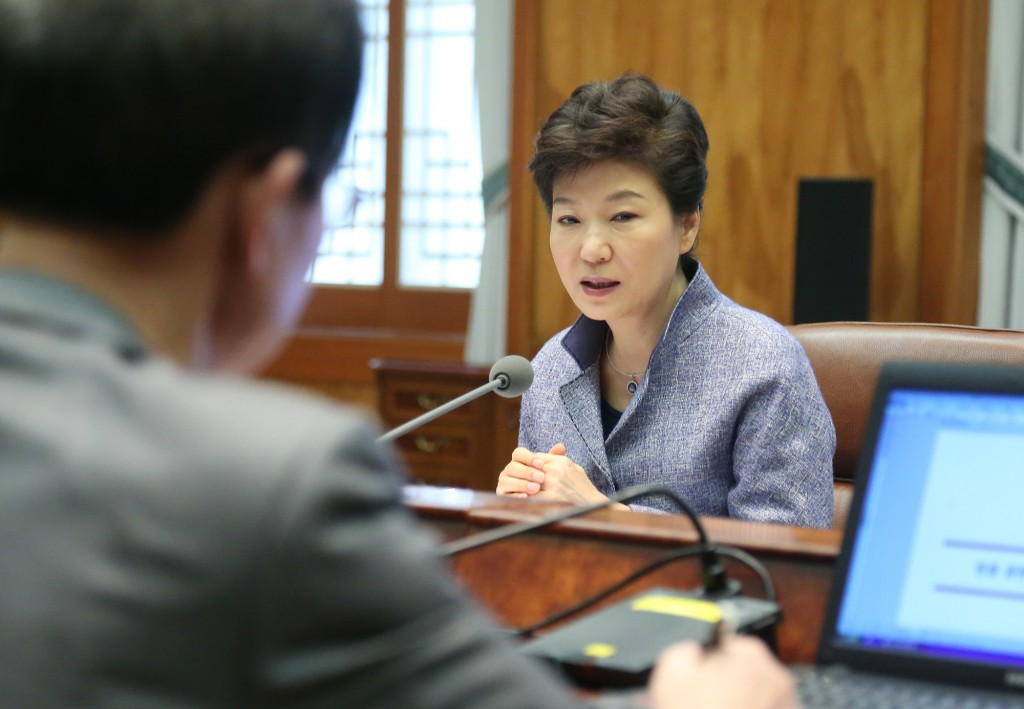 President Park Geun-hye said Monday South Korea should be fully prepared against possible North Korean hostilities, (Yonhap)