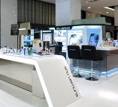 Shu Uemura Korea website