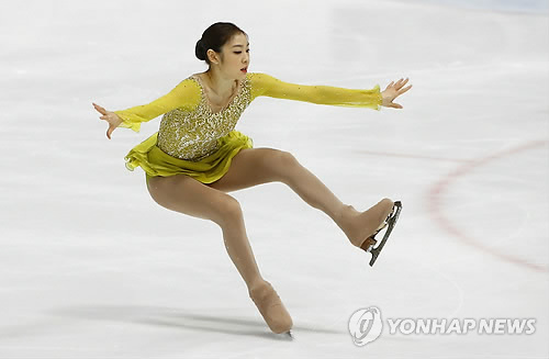 Despite this mistake, it was a strong performance with difficult jumps. (Yonhap)