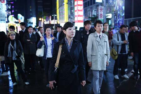"This scene from ""The Bourne Legacy"" was filmed at subway stations in the Gangnam area, southern Seoul. (Korea Times file)"
