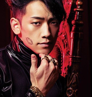 This is a teaser image of Rain's sixth full-length album that will be released today.