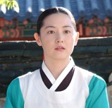 "Lee Young-ae stars in a scene from the popular 2003 drama ""Daejanggeum."""