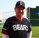 Patrick Bourgo, co-chair of SABR's new Korea chapter