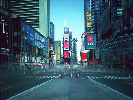 "Atta Kim's ""ON-AIR Project 110-1, The New York Series;""  (Courtesy of Atta Kim)"