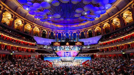 The world's foremost orchestras and soloists have perfromed at the BBC Proms at Royal Albert Hall. (Korea Times file)
