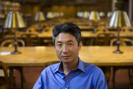 """Chang-rae Lee dips into dystopian fantasy in his new novel, """"On Such a Full Sea. (Courtesy of Riverhead Books)"""
