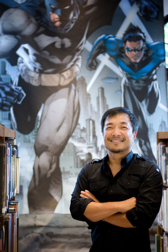 Jim Lee oversees 76-90 titles per month at DC Comics as a co-publisher, including Batman. (Courtesy of DC Comics)