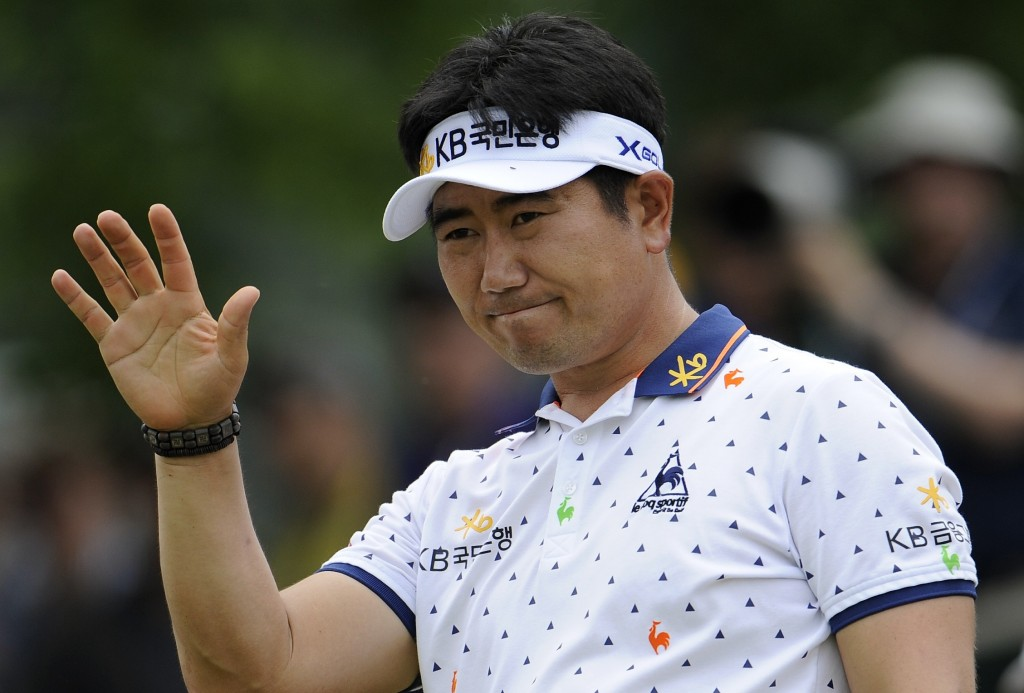 Y.E. Yang got off to a fast start at the Phoenix Open.