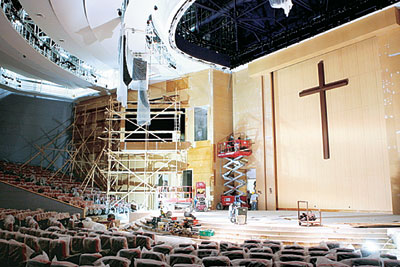 Koreans are building a lot of churches in America. (Korea Times file)