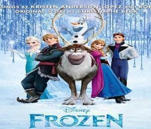 Frozen soundtrack cover. (Yonhap)