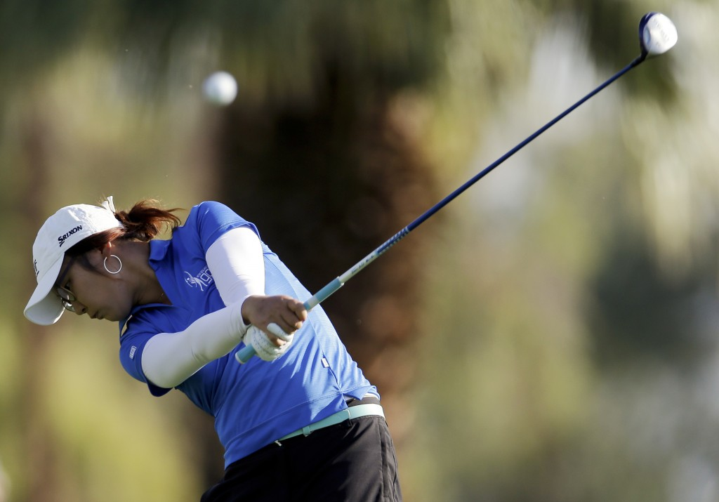 Lydia Ko could become the number one ranked player in the world if she wins the KEB-Hanabank Championship.