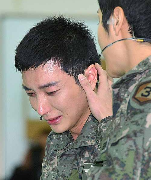 Leeteuk is currently in the military. (Newsis)