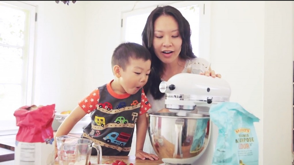 Patrick Kim. 3, loves to watch her mother cook.