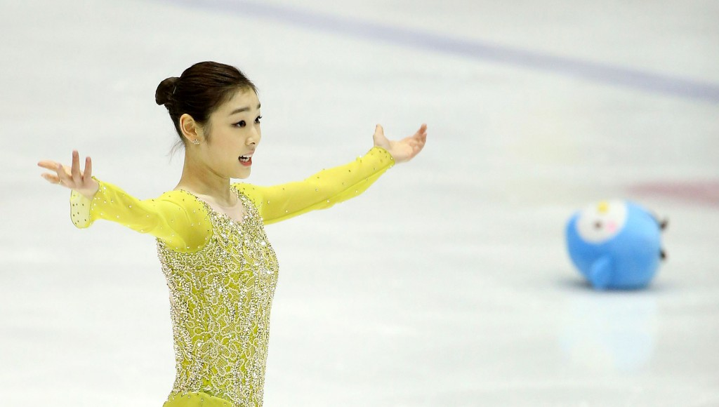 Kim,  a two-time world champion, will seek to become only the third woman to defend an Olympic figure skating gold. (Yonhap)