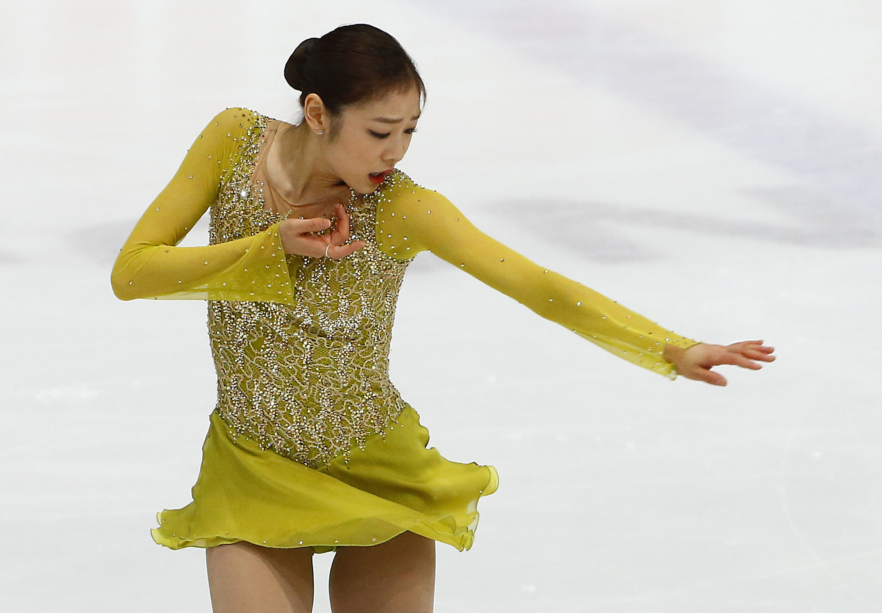 Figure skating Olympic champion Kim Yu-na will try to leave a legacy at the Sochi Winter Games, slated from Feb. 7 to 23. (Yonhap)