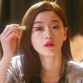 "Actress Jun Ji-hyun, wearing a Yves Saint Laurent lipstick No. 52, appears in a scene from ""Man From the Star."""