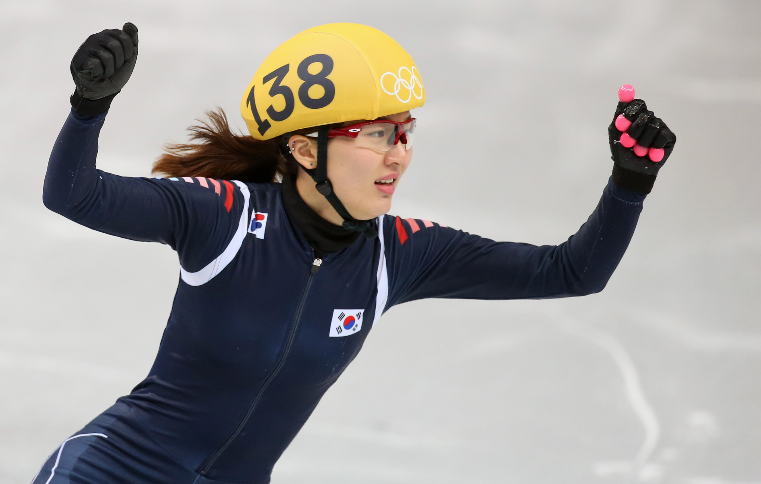 No one paid much attention to Park Seung-hi,  but she came through big time for Korea. (Yonhap)
