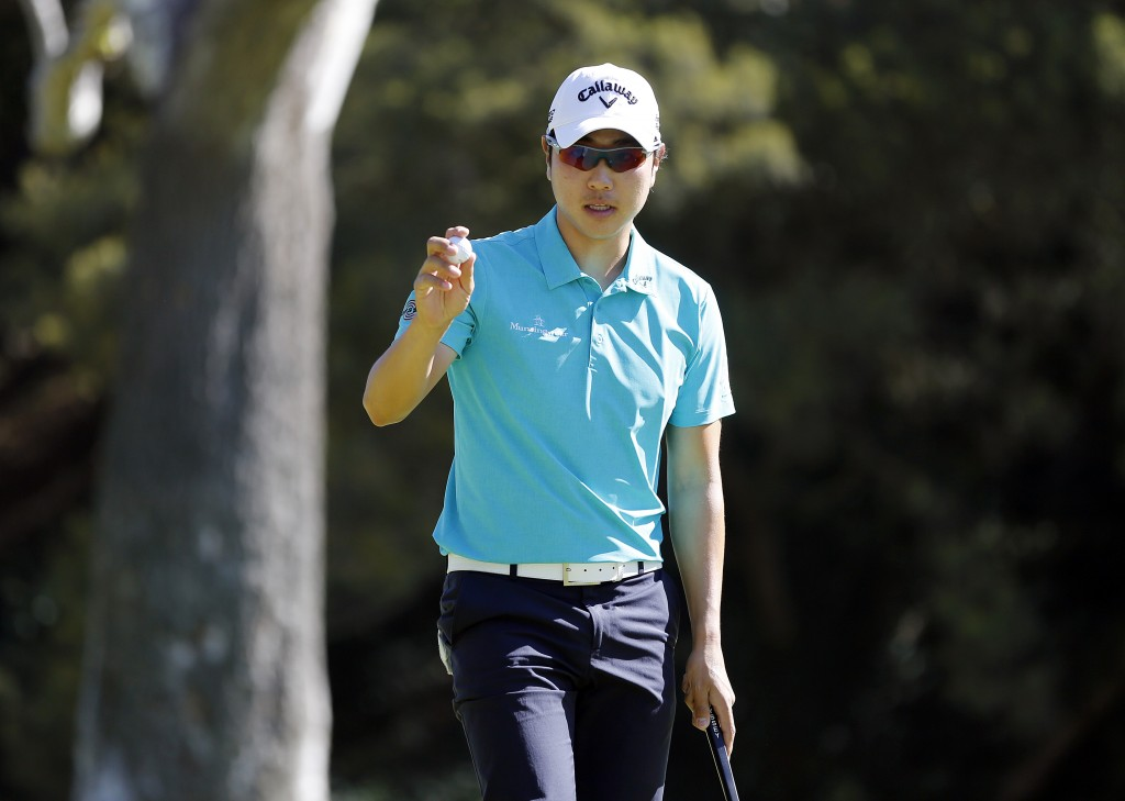 Bae Sang-moon entered Sunday with a comfortable lead to win his second event on the PGA Tour (AP Photo/Reed Saxon)