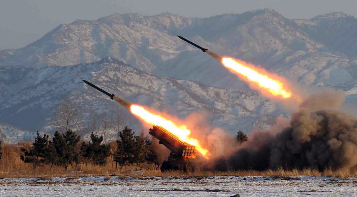This photo was released by North Korea back in January of 2009. (Yonhap)