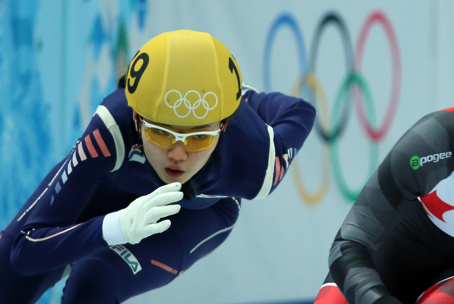 Shim Suk-hee came into this Olympic as one of the favorites to win gold-medal. (Yonhap)