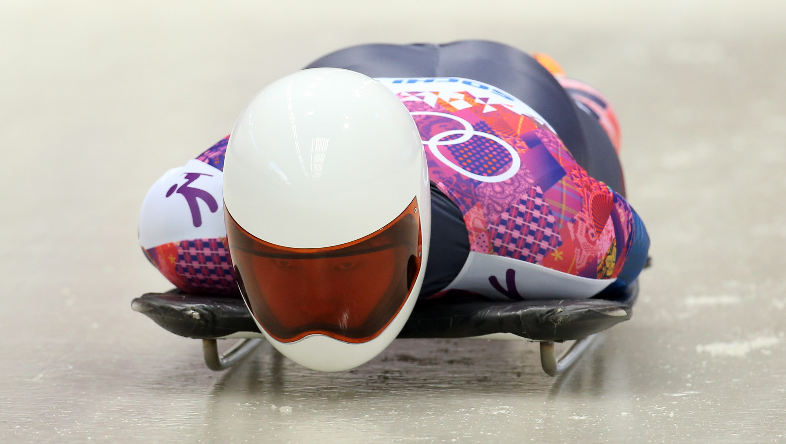Yun Sung-bin in skeleton made some noise after the two opening races at Sanki Sliding Center. (Yonhap)